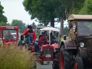 Traktortreffen des Männerkirmesvereines Herschdorf